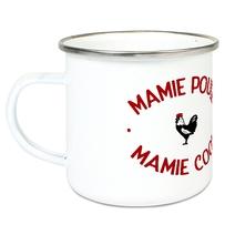 Tasse émaillée Mamie Poule Mamie Cool