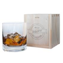Verre à whisky papy de l'année