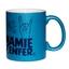 Mug à paillettes bleu Mamie d'Enfer