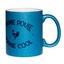 Mug à paillettes bleu Mamie Poule Mamie Cool