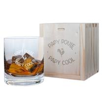 Verre à whisky papy poule cool